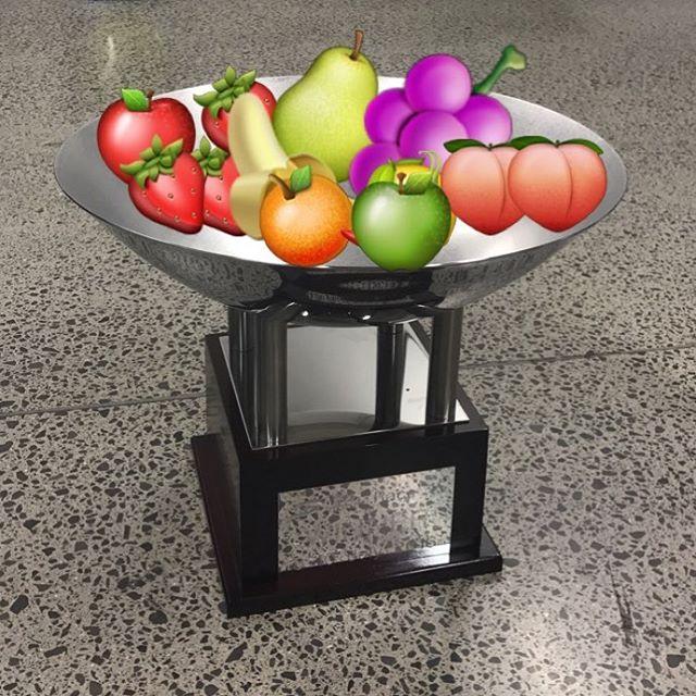 Trophy or fruit bowl? @svg97