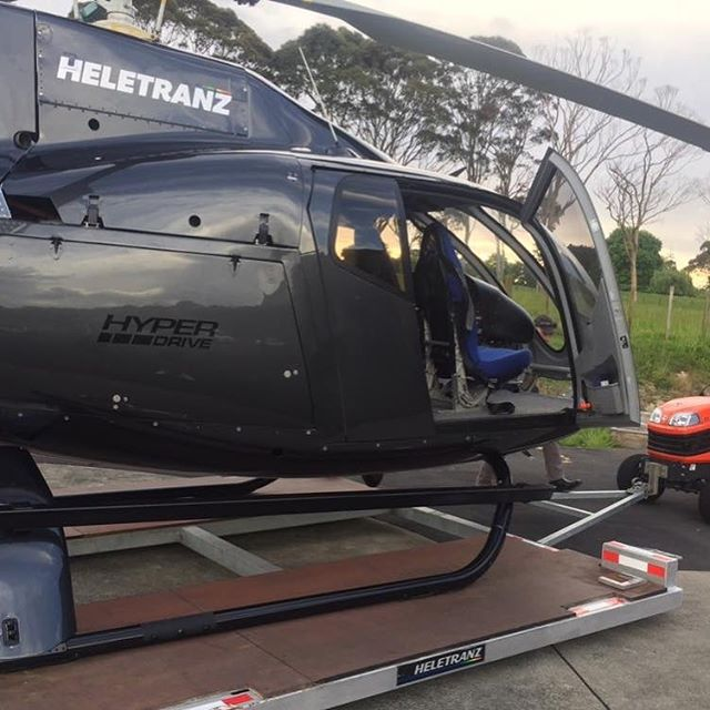 Hypers new courtesy vehicle 🚁