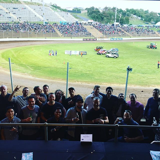 The team taking in the @vodafonespeedway