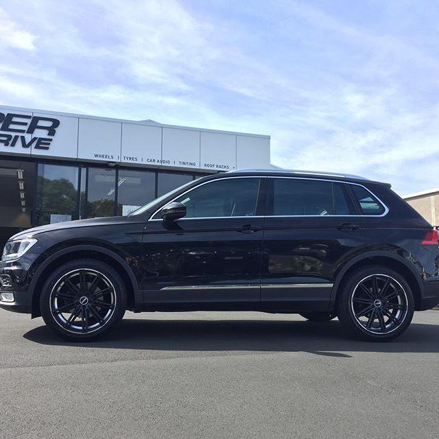 """New #VW Tiguan sitting pretty on 20"""" #bgw wheels"""