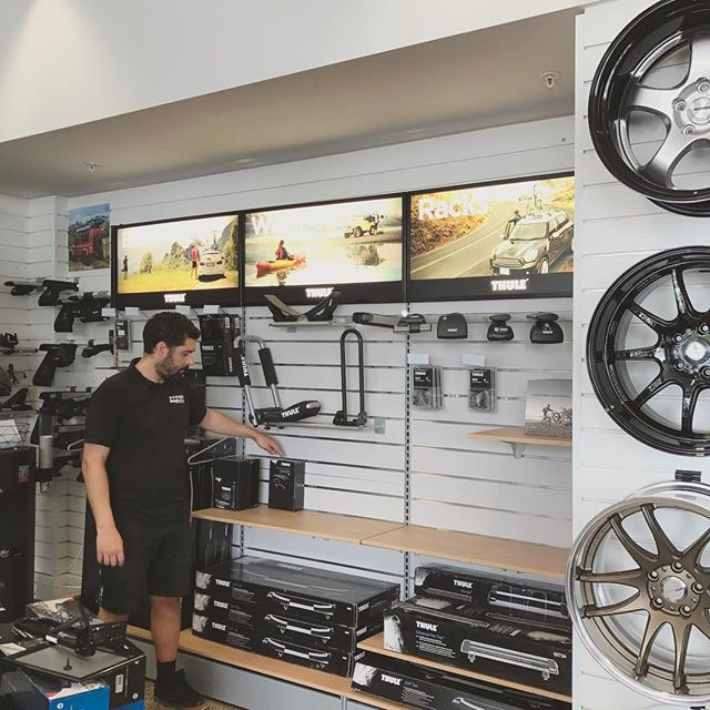 Thule feature coming together nicely!  #thule #hyperdrivenz #showroom