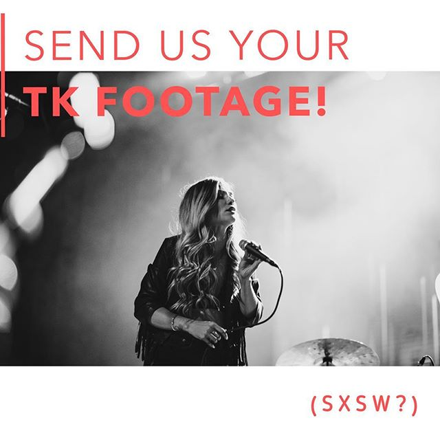 ‼️‼️Help!! Important!! Do you have any footage of TOMKAT during SXSW (video or otherwise)?? Please send it to our email address, booking@tomkatband.com! We are interested in any video you have of us for a video compilation! SXSW footage would be greatly appreciated! Love you all! ‼️‼️