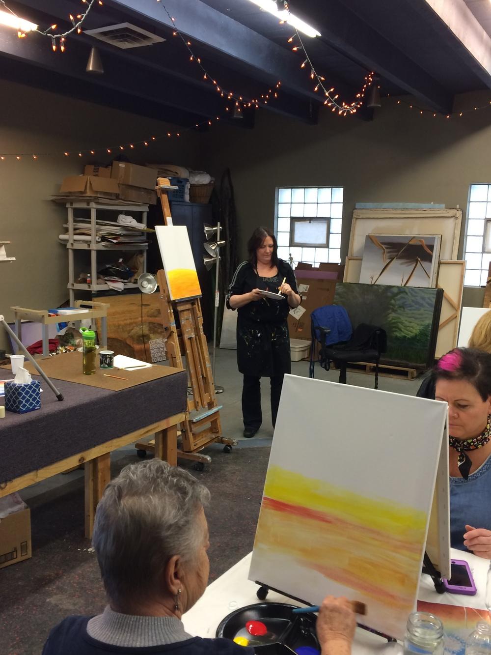 Paint Nite and DIY Art at The Tornado Factory