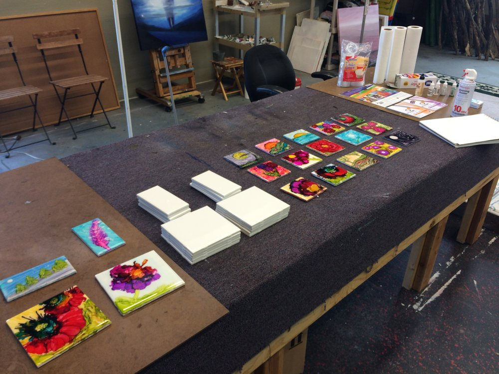 Ceramic Tile Art examples