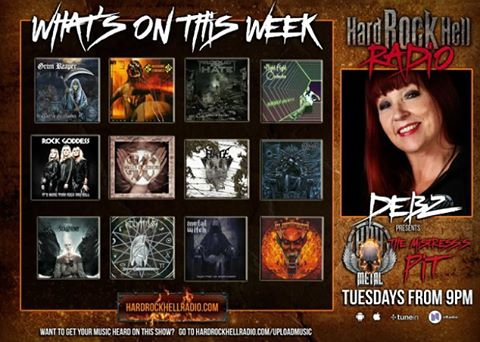 Hear us on #HardRockHellRadio this week!