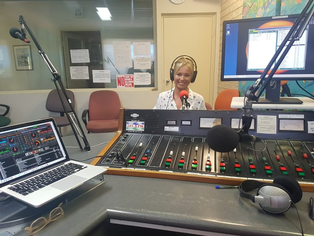 Interview on Radio Fremantle
