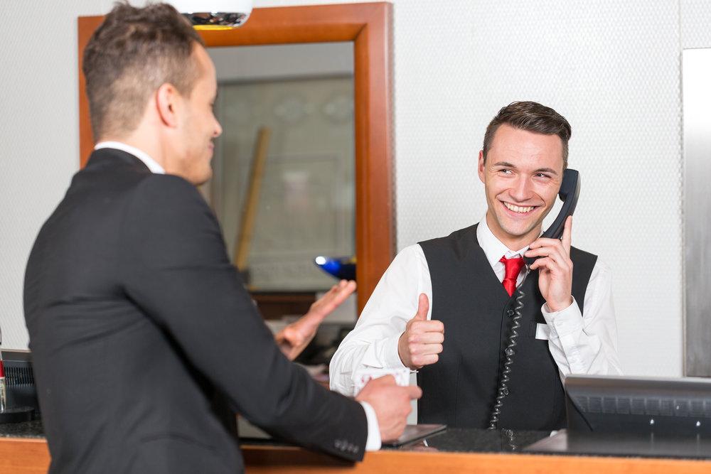 front-desk phones-operator