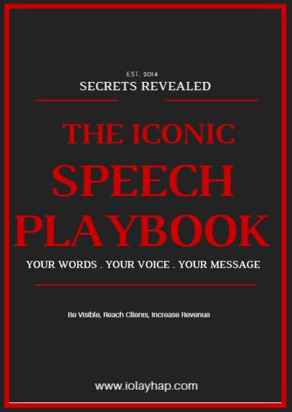 Complimentary Iconic Speech Workbook