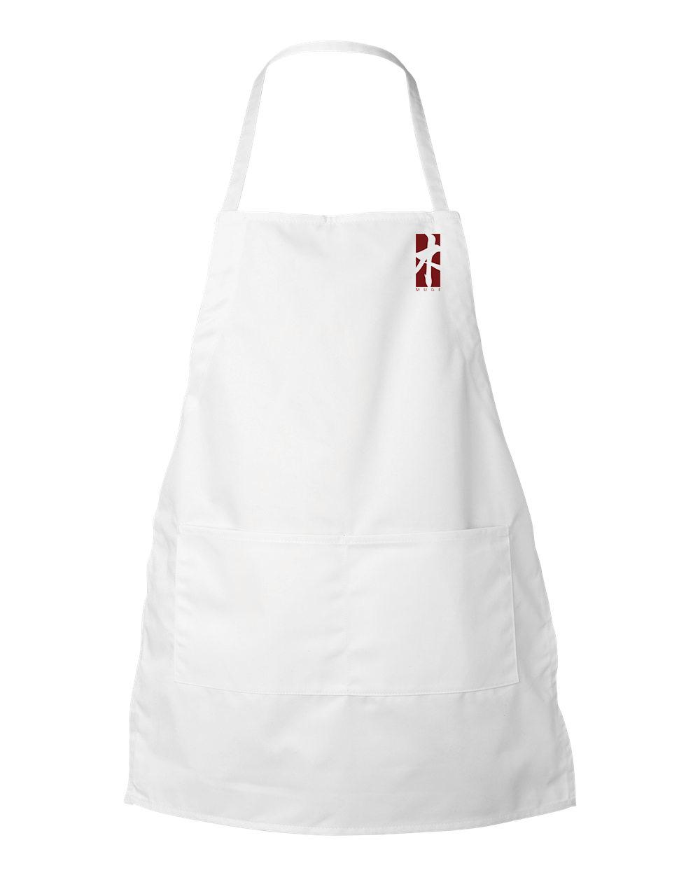 White apron mockup - Prev Next