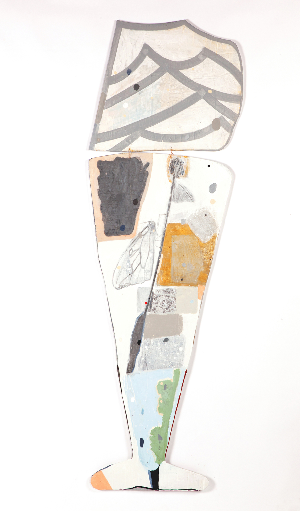 """Landscape in a Glass""    68"" x 24"" 2014"