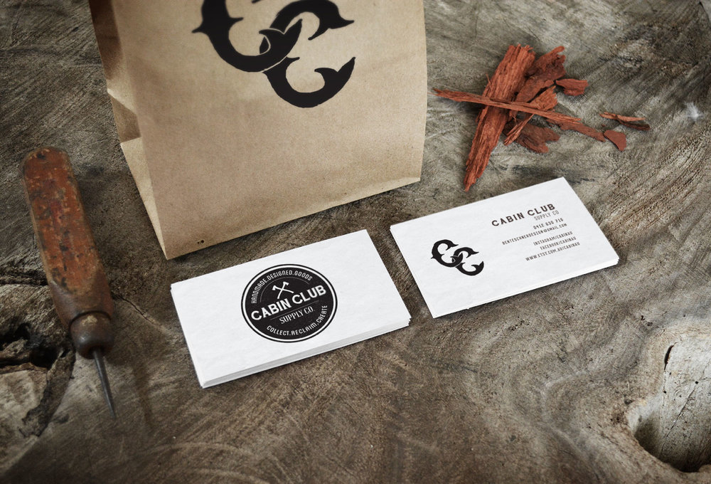 Cabin Club | Business Cards