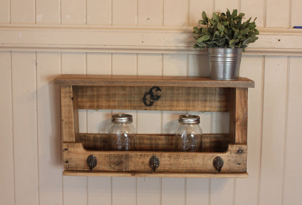 Cabin Club | Reclaimed Pallet Shelf