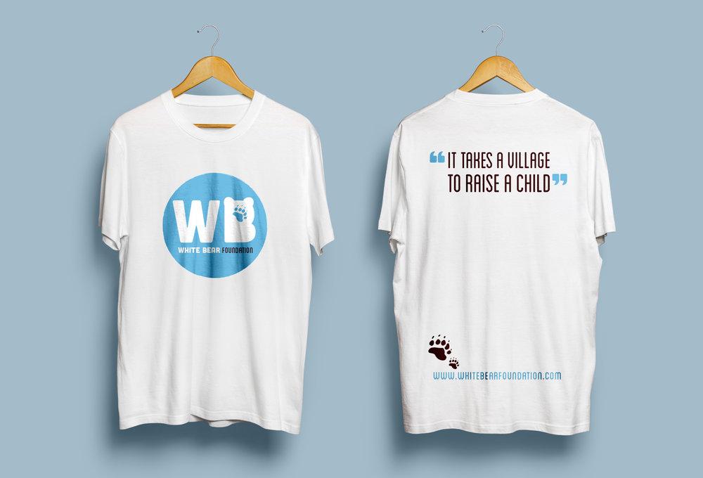 White Bear Foundation | T Shirt Print