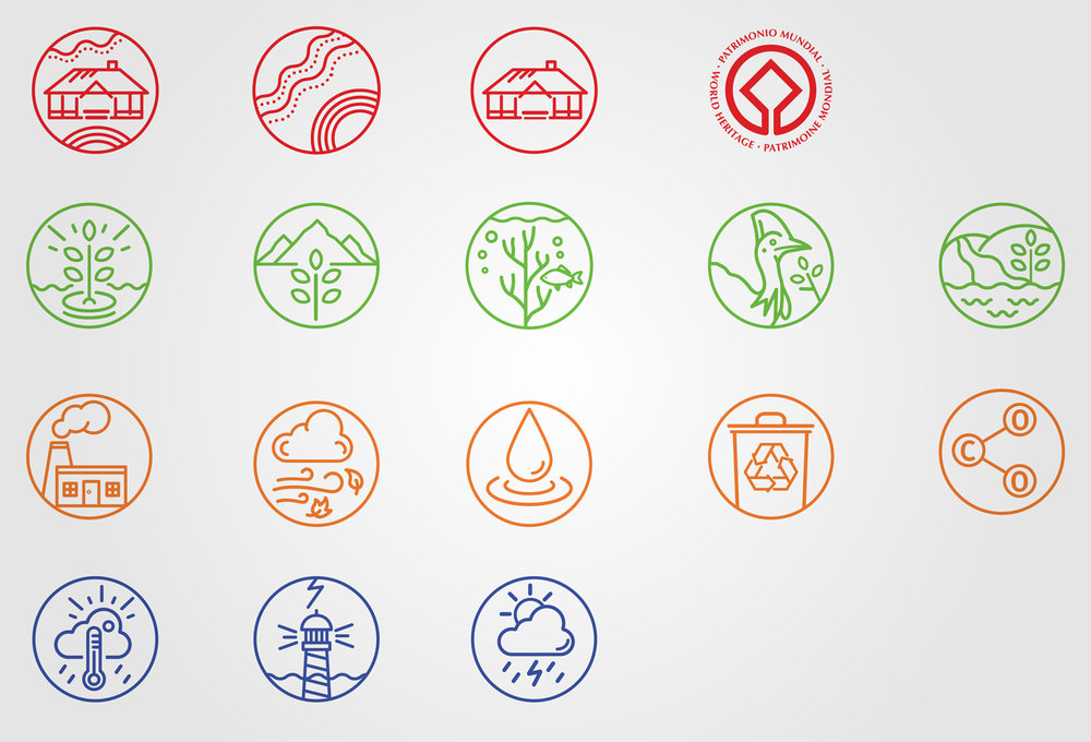 Qld Government   State of the Environment Report Icon Design