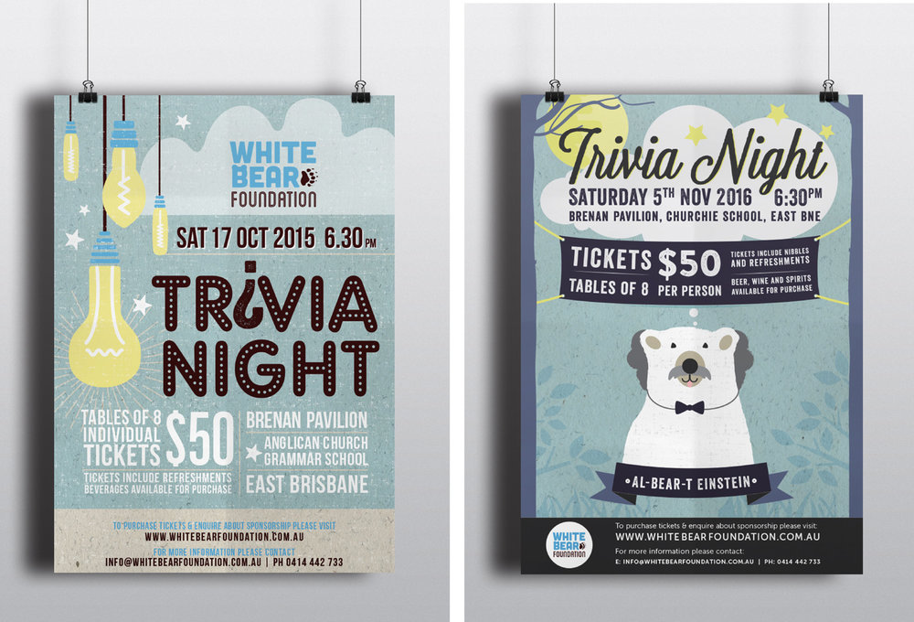 White Bear Foundation | A1 Posters