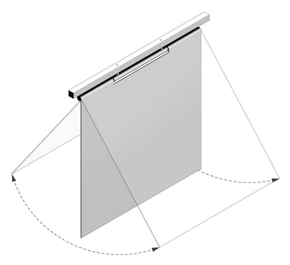 Enlarged aluminum flap