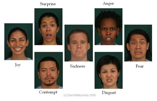 Universal Facial Expressions. David Matsumoto.