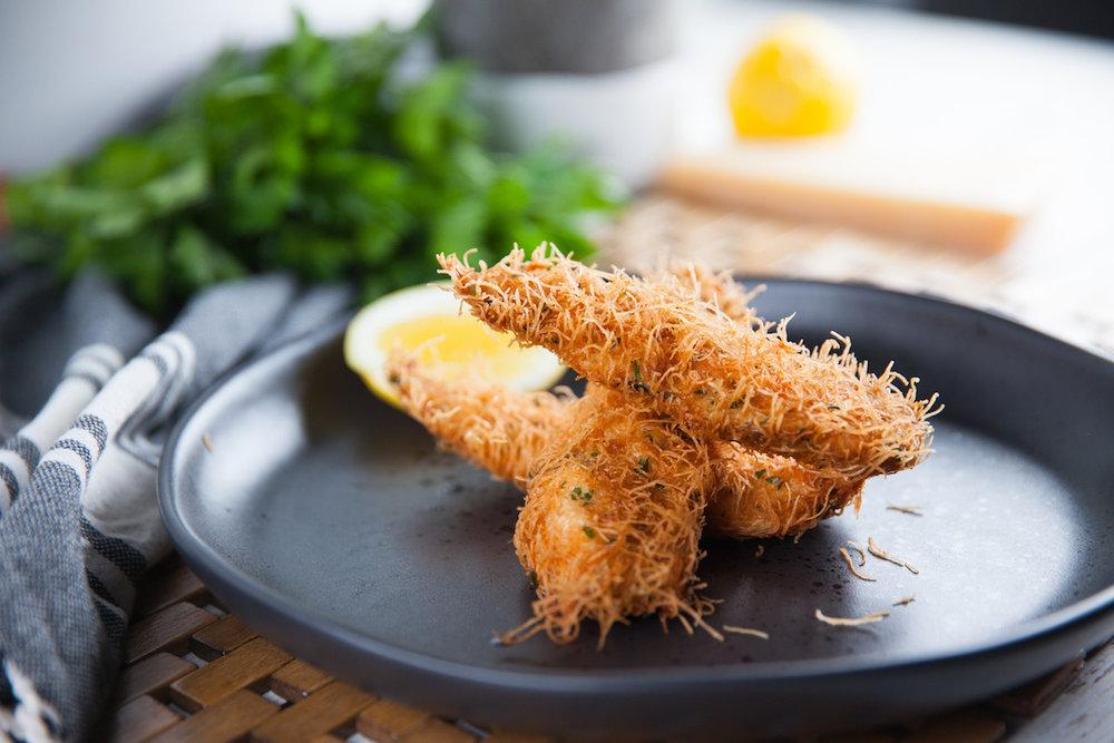 Kataifi Chicken Schnitzel Recipe