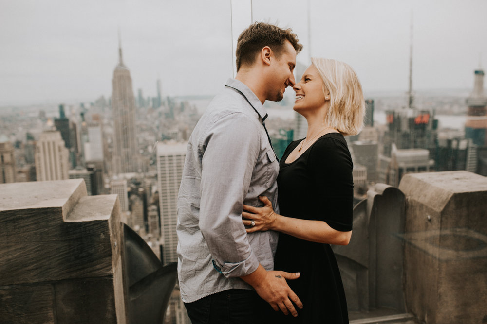 AVERY + BEN'S NYC ADVENTURE SESSION | TOP OF THE ROCK | BETHESDA TERRACE | CENTRAL PARK