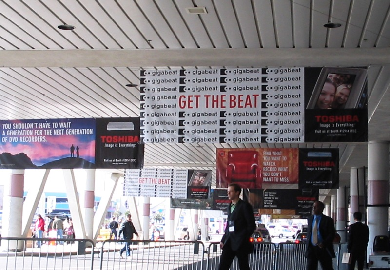 CES 2005 Toshiba Taxi Banners.JPG