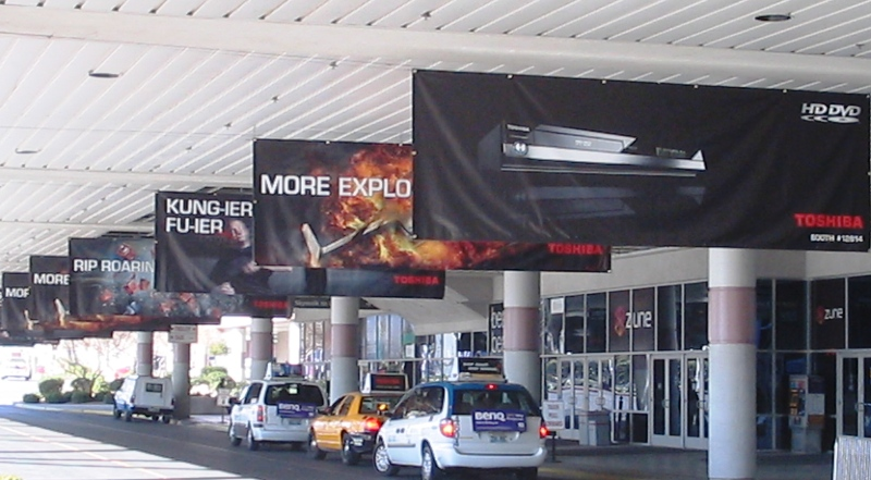 CES 2007 Toshiba Taxi Banners  #3.jpg