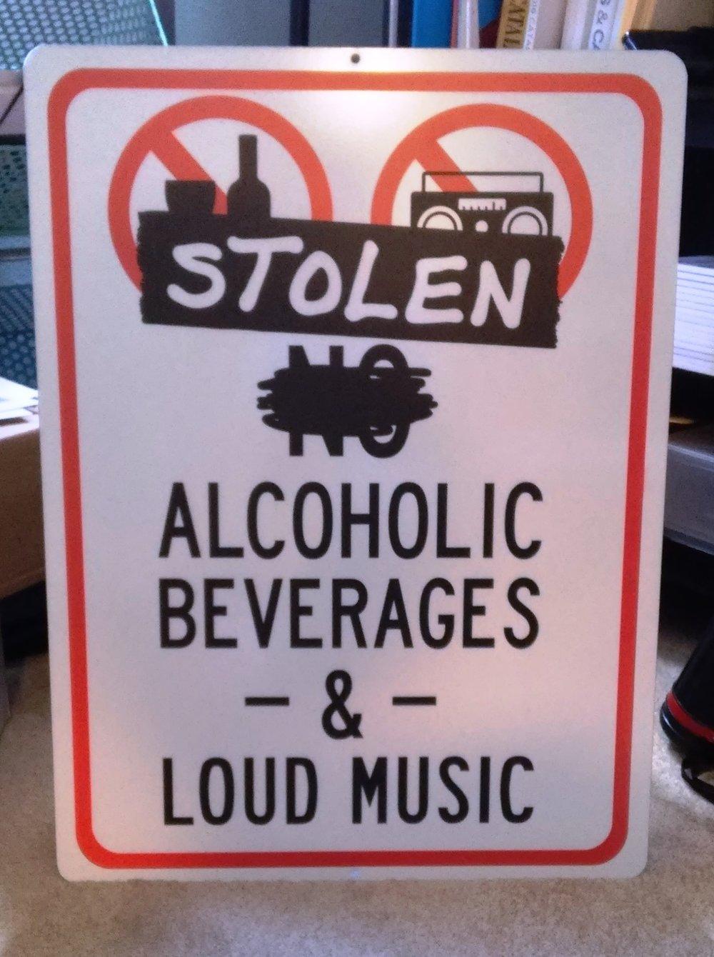 Stolen Rum Aluminum Bar Sign#2.jpg