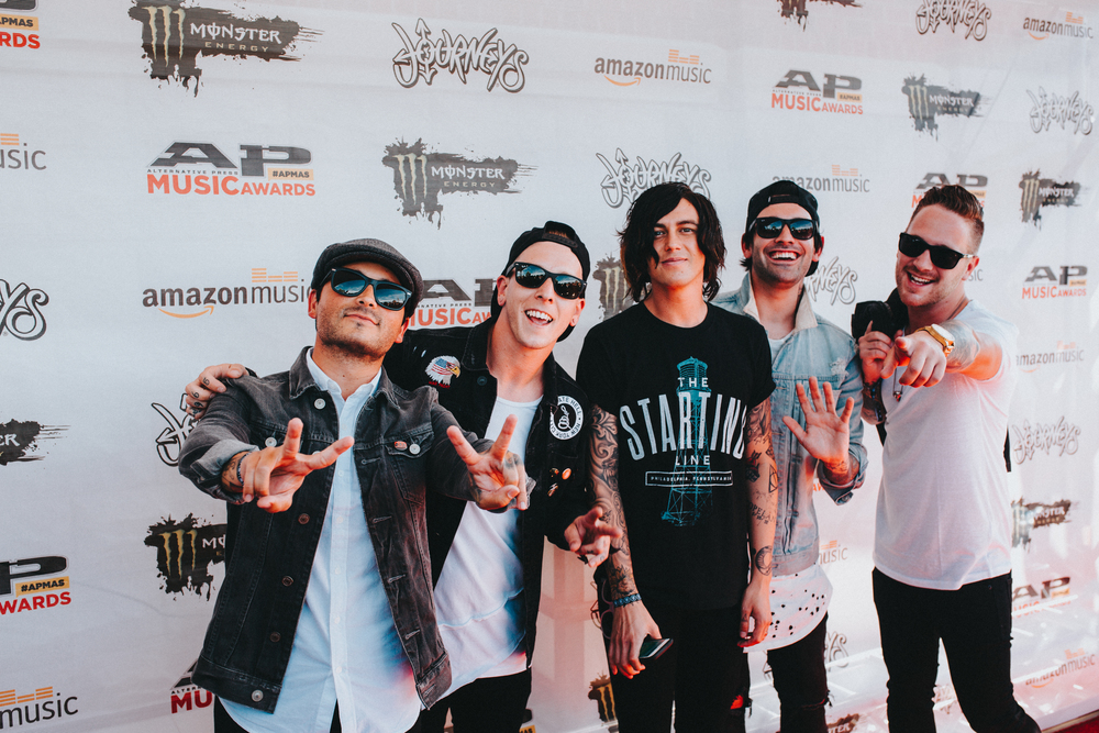 "APMA's.  This was my  first time on a red carpet.  I was wedged between like 20 other photographers in a very short strip but when Sleeping With Sirens walked on, they saw me and started yelling saying, ""That's our guy!"".  They've also nicknamed me, ""Ryan Watanabe-Jones"".  They say it    sounds like a superhero"