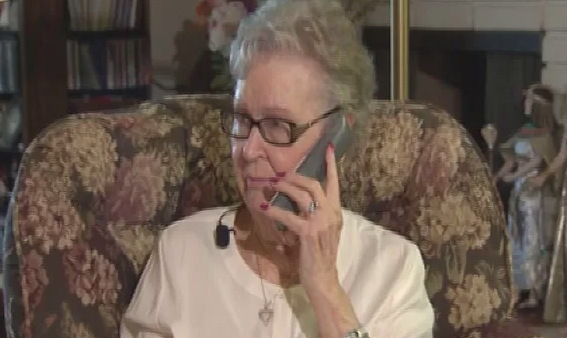 Copy of CBS News: New service helps seniors without smartphones take advantage of popular app services