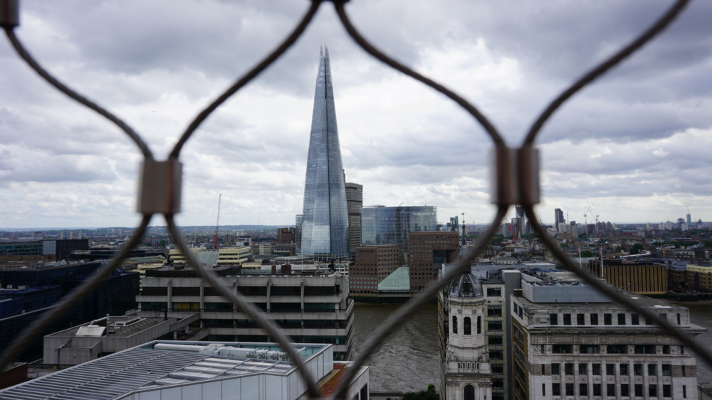 The Shard - tallest building in London