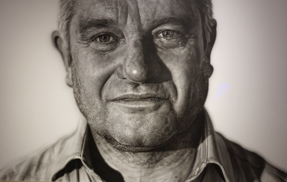 SIR PAUL NURSE 'PAUL'By: Jason Brooks (Acrylic on linen)