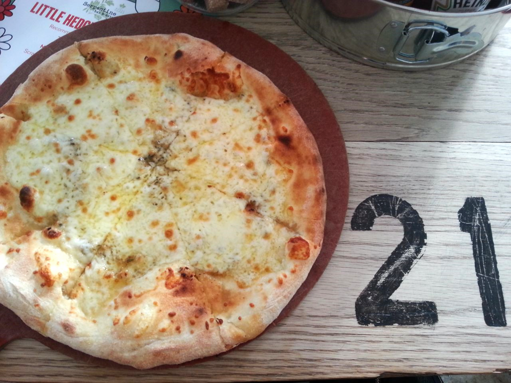 Pizza from Serpentine