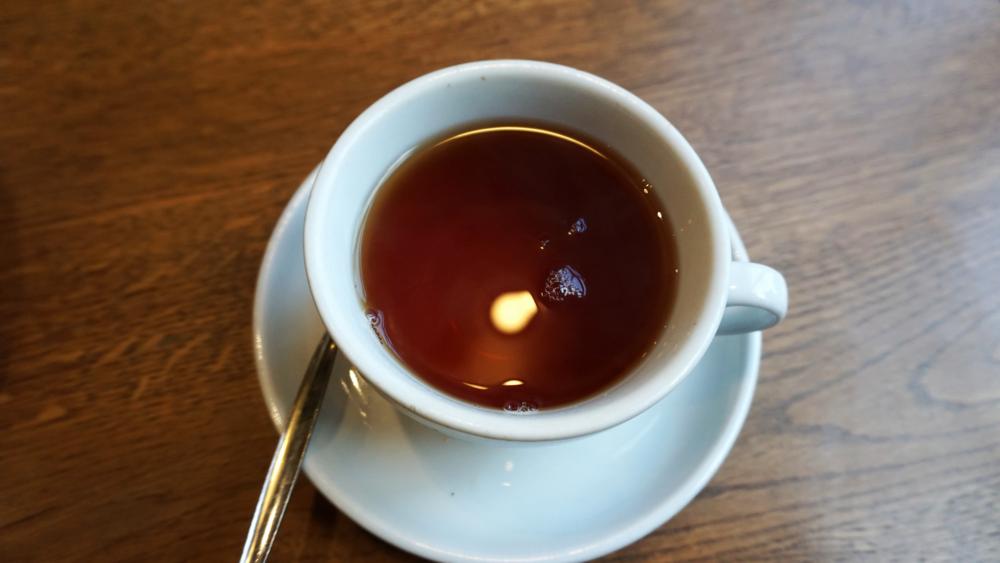 Tea at Cafe Nero
