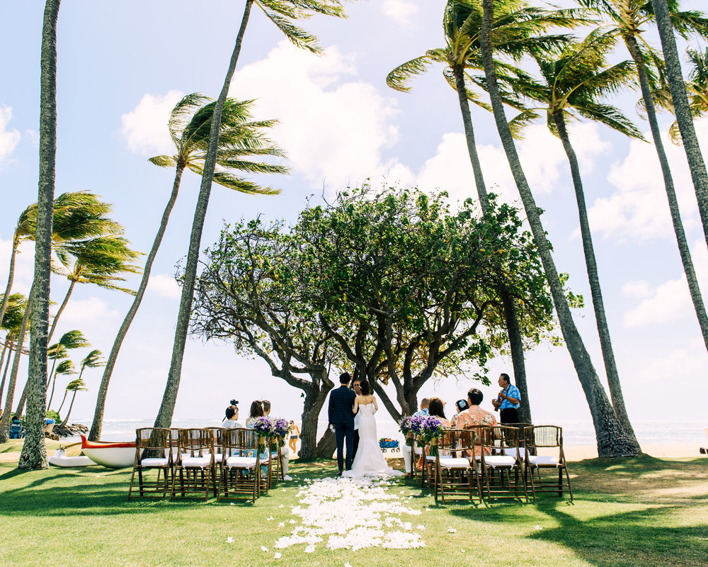 Kahala Hotel Destination Wedding Honolulu Hawaii