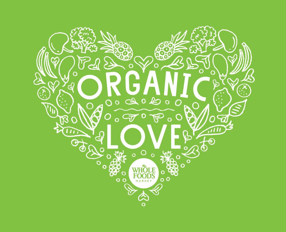 Corey Carbo Whole Foods Market Organic Love