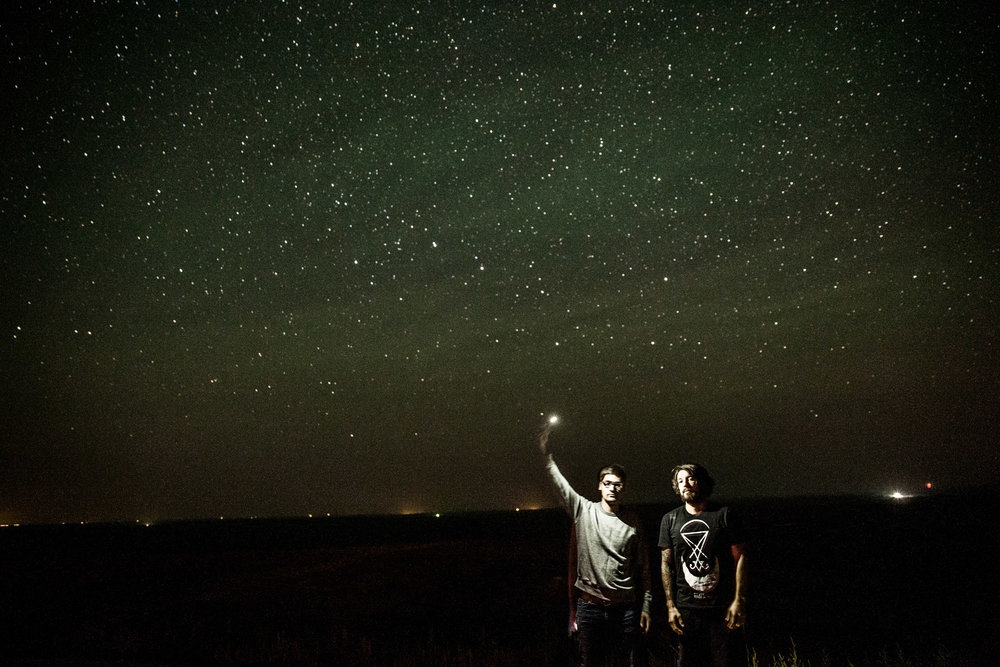 Starry Night In South Dakota