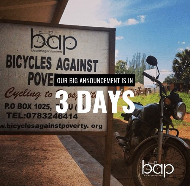 This is a picture of our sign post when we first began full-time operations in Uganda in 2014. Our team did 250 loans that year. This past year, our team distributed over 1,500 loans and in 2019 our goal is 3,000! We are committed to ensuring that distance is not a barrier to access and opportunity! #BAPbikes #BIGannouncement