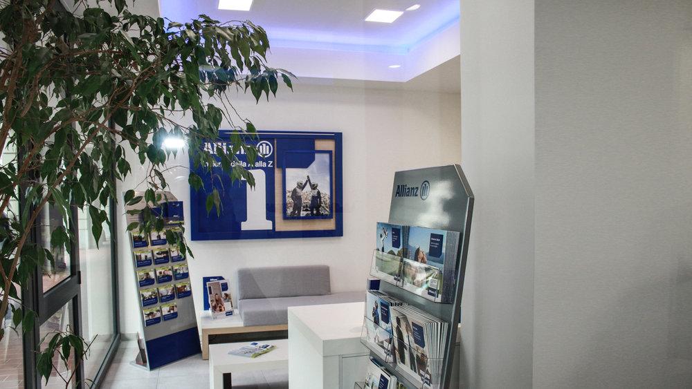 Ingresso filiale Allianz