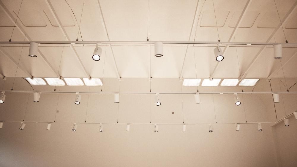 Illuminazione tecnica negozio