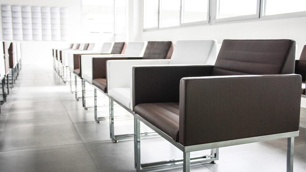 Particolare sedie