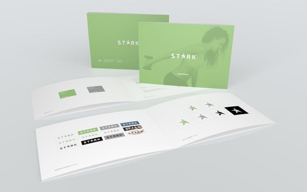 Das Logo Manual hilft bei der richtigen Verwendung des STARK Logos...