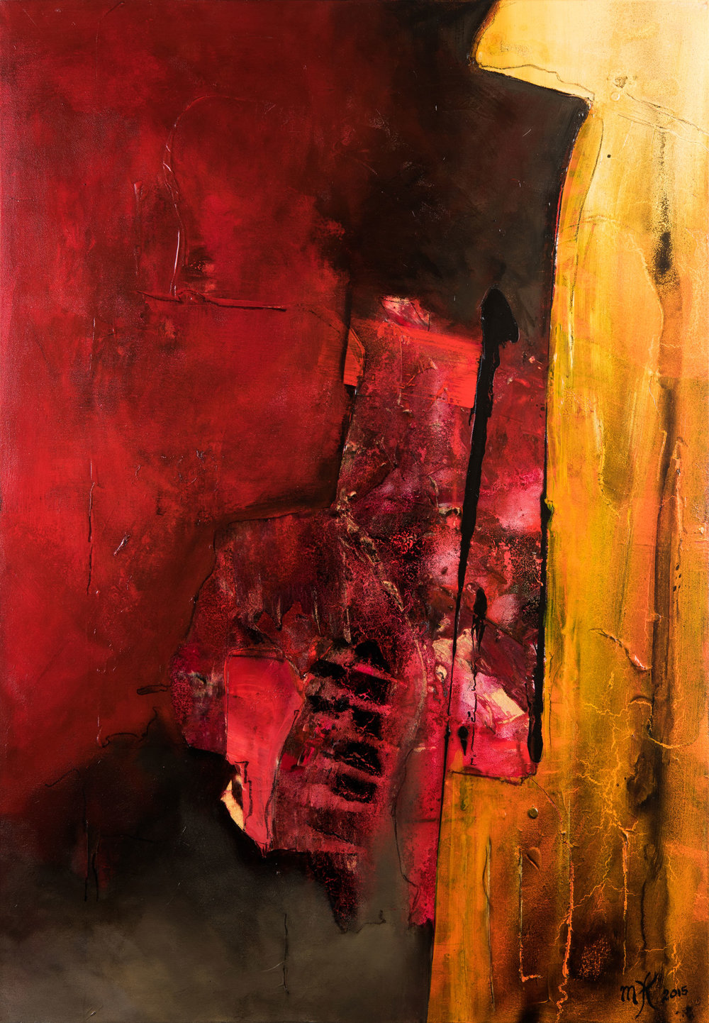 It's over now  70 x 100 cm, 2015