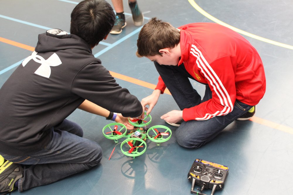 Building and Racing Drones