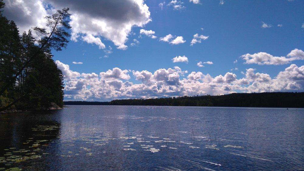 El lago de mi suegra en Storå