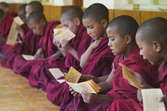 En Vipassana el estudio del Dharma y la meditación van de la mano
