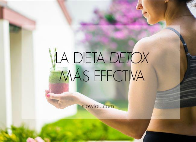 la dieta detox mas efectiva