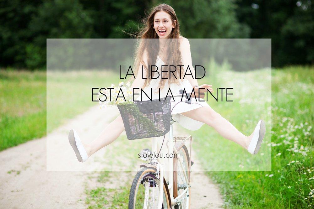 la libertad esta en la mente