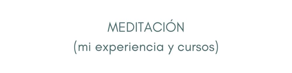 cursos de meditacion online