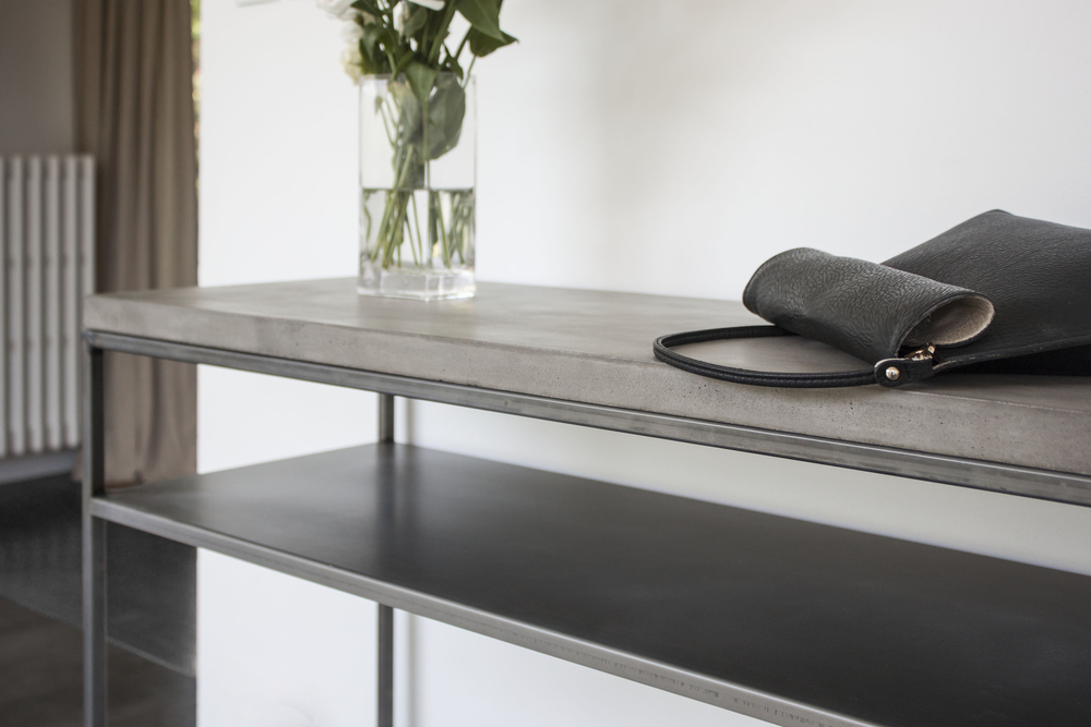 Good New Perspective Concrete Console Table