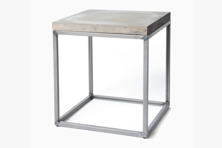 concrete side table. New Perspective Concrete Side Table
