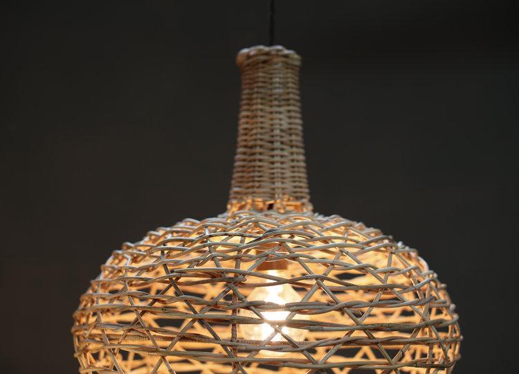 Beru rattan lampshade conical tin design beru rattan lampshade conical aloadofball Choice Image